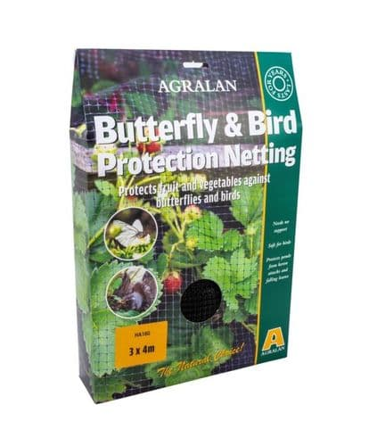 Agralan Butterfly & Bird Protection Netting - 4 x 3m